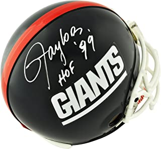 Lawrence Taylor New York Giants Autographed Pro-Line Riddell Authentic Helmet with