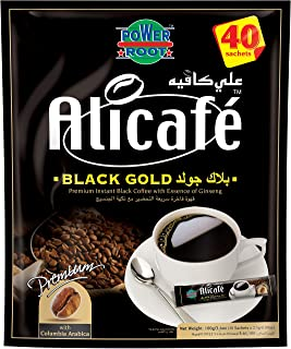 AliCafe Black Gold Instant Coffee Pouch; 2.5 gm x 40