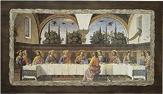 "Ars Martos -""Ultima cena"" Ghirlandaio. Riproduzione d'Arte in Affesco su Intonaco. Disponibile in varie misure e finiture."