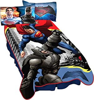 Warner Bros. Batman Vs Superman Heroes Dual Blanket, ...