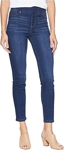 Sienna Pull-On Ankle in Silky Soft Stretch Denim in Elysian Dark