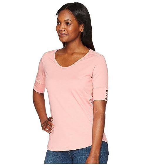 cuello con hielo V fresa en Royal y de Robbins Merinolux camiseta w6qvI4H