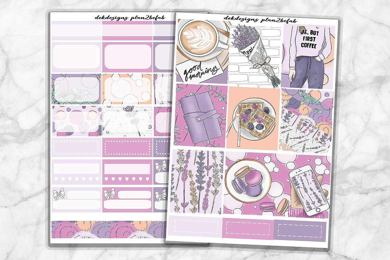 Life New mail order Planner Ranking TOP18 Sticker Kit 'But First Mini Coffee' premiu - on