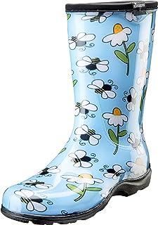 Sloggers 5020BEEBL11 Waterproof Comfort Boot, 11, BEE Blue