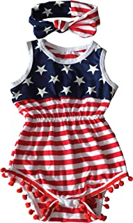 newborn fourth of july outfit girl