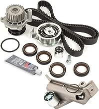 Evergreen TBKWPH306A Timing Belt Kit Water Pump Fits 01-06 Audi A4 Quattro Volkswagen Passat Turbo 1.8