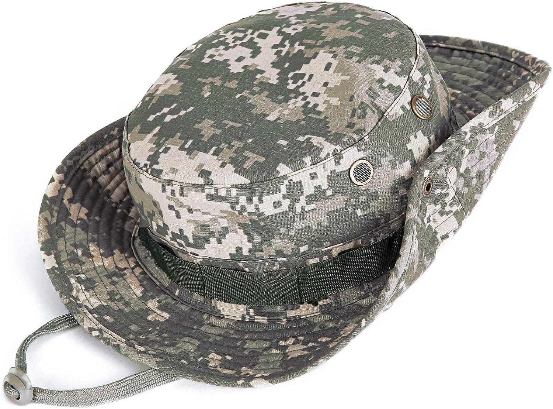 kolumb Wide Brim Boonie Hat Max 72% OFF Men Camo Hats Bucket Women fo Top Limited time cheap sale