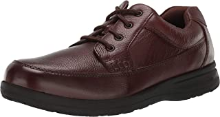 Nunn Bush Men's Cam Moc Toe Oxford Casual Lace-up with Comfort Gel and Memory Foam