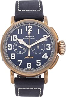 Pilot Mechanical (Automatic) Blue Dial Mens Watch 29.2430.4069/57.C808 (Certified Pre-Owned)
