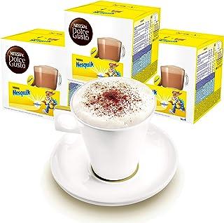 Nescafé Dolce Gusto Coffret de 3 Tasses avec Mug Nesquik, Cakao, Chocolat, Capsules