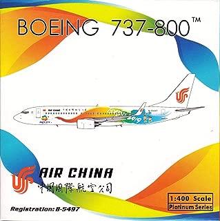 Phoenix Model PHX1786 1:400 Air China Boeing 737-800(W) 'Beijing Expo 2019' Reg #B-5497 (pre-Painted/pre-Built)
