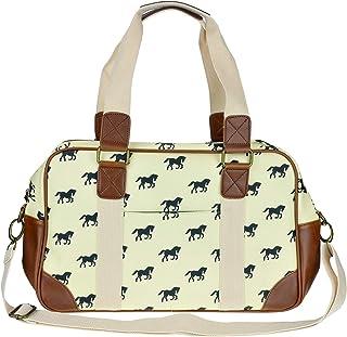 حقيبة السفر القماشية بتصميم فراشة للنساء من Miss Lulu