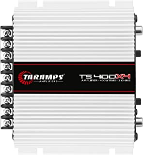 Módulo Taramps TS 400x4 2 ohms 400 W RMS 4 Canais Amplificador Som Automotivo