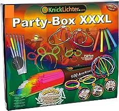 NEON FUN Knicklichter Party Box XXXL | Alle unsere Topseller in einer aufwendigen Geschenkverpackung | Premiumqualität
