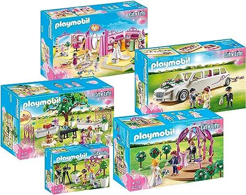 mejor calidad Playmobil Playmobil Playmobil Party Boda Set 9226 9227 9228 9229 9230  contador genuino