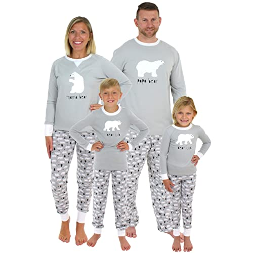 Sleepyheads Holiday Family Matching Polar Bear Pajama PJ Sets 1ea086149