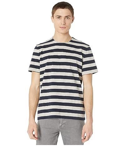 BLDWN Adam T-Shirt (Navy Stripe) Men