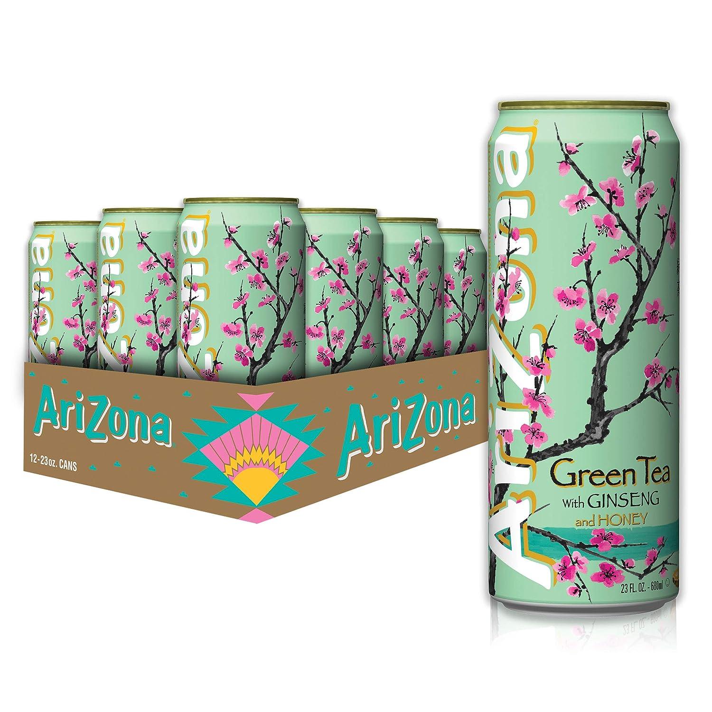 AriZona Green Tea Big Can Washington Mall 23 12 of Pack Regular discount Oz Fl
