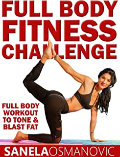 Full Body Fitness Challenge Workout for Weight Loss and Toning