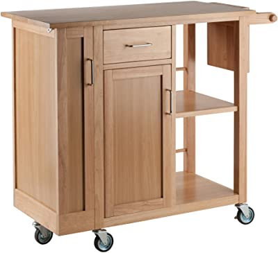 Winsome 89443 Douglas Cart Kitchen, Natural 42.52x18.98x35.35