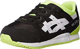 ASICS Gel Lyte III TS Running Shoe (Toddler) 黑色/白色 4 M US Toddler