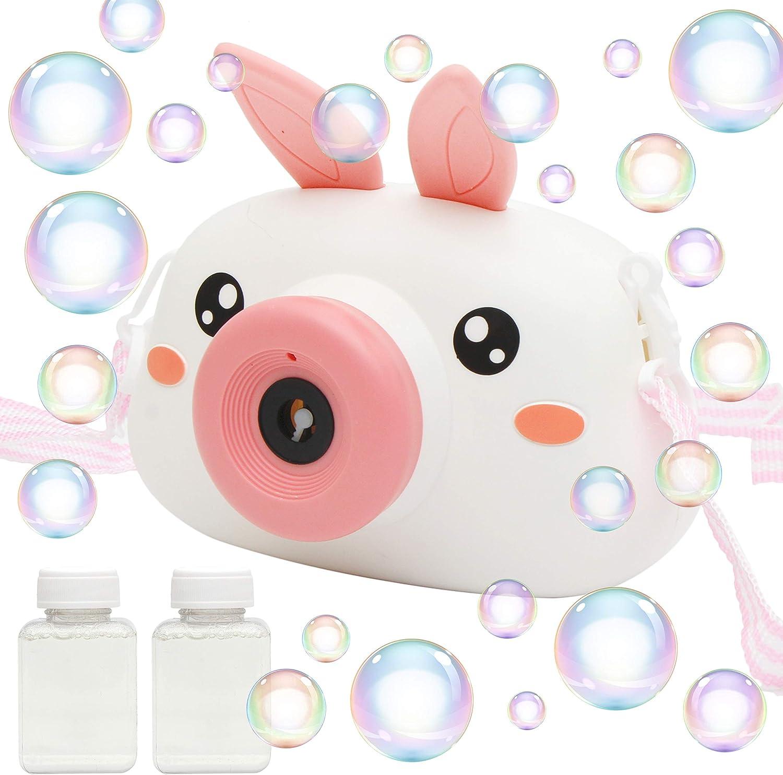 JOYIN Bubble Machine Toys for Kids, Camera Bubble Maker with Bub