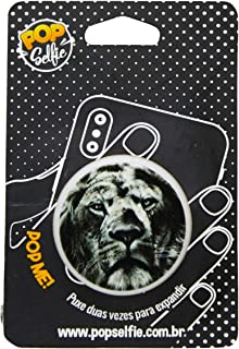 Popsocket Original Leão Ps28, Pop Selfie, 151102, Branco