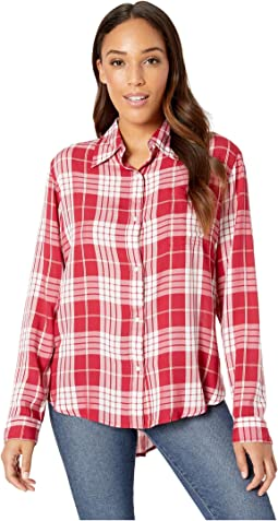 Western Long Sleeve Snap Plaid Shirt