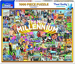 White Mountain Puzzles The New Millennium - 1000Piece Jigsaw Puzzle