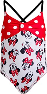 Disney Baby Girls Infant Minnie Mouse One-Piece Swimsuit