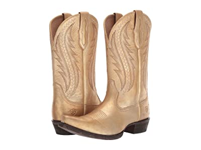 Ariat Tailgate (Distressed Gold) Cowboy Boots