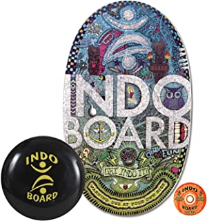 INDO BOARD for Balance and Core Strength or for Use at Standing Desk - Comes with 14