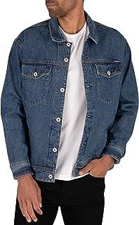 Superdry Men's Easy Trucker Jacket, Blue