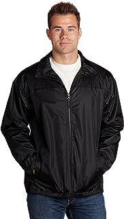 Equipment De Sport USA Men's Black Windbreaker Jacket