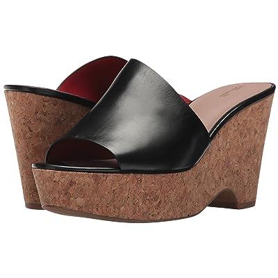 Diane von Furstenberg Bonnie (Black Matte Leather) Women