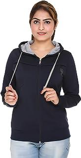 HARDIHOOD Women's Cotton Hooded Sweatshirt