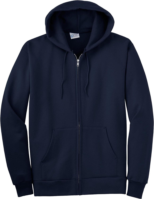 Port & Company Tall Ultimate Full-Zip Hooded Sweatshirt>3XLT Navy PC90ZHT