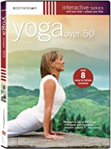 Yoga over 50 DVD – Workout Video with 8 Routines, including routines for Seniors
