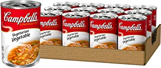 Campbell'sCondensed Vegetarian Vegetable Soup, 10.5 oz. Can (Pack of 12)