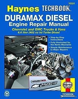Duramax Diesel Engine for Chevrolet & GMC Trucks & Vans (01-12) Haynes TECHBOOK