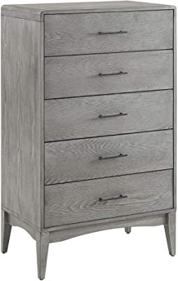 Modway MOD-6240-GRY Georgia Wood, Gray Chests of Drawers/Bureaus