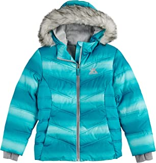 Girls Jacket Midweight Puffer Winter Coats for Girls with Attached Hoodie (Size 7-16)