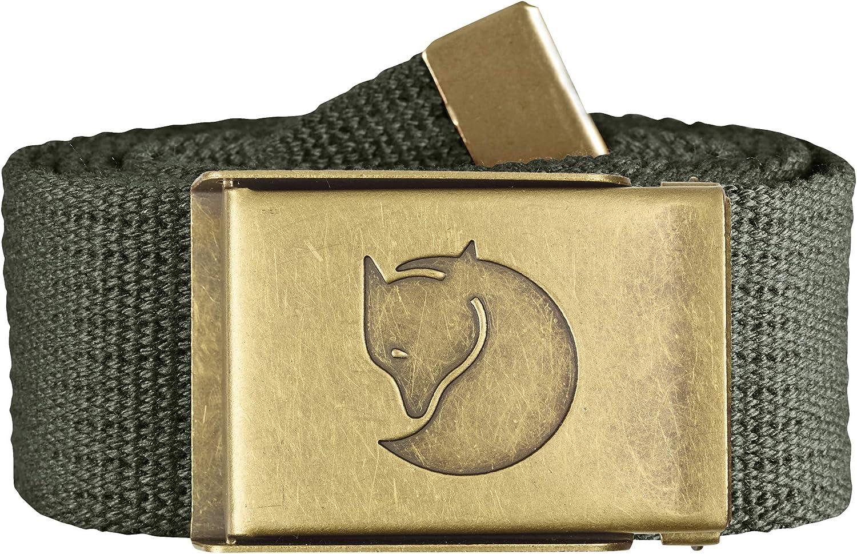 Fjallraven - Canvas Brass Belt 3 cm