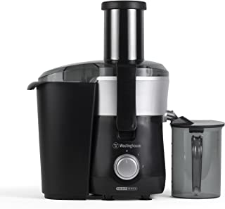 Westinghouse COMINHKPR100901 WJE2BSLA Select Series 2 Speed Fruit & Vegetable Juice Extractor with Custom Pitcher, Black