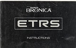 Bronica ETRS Original Instruction Manual