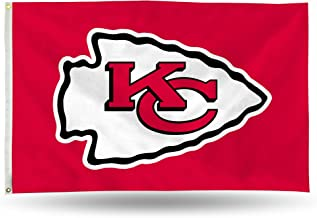 NFL 3-Foot by 5-Foot Single Sided Banner Flag with Grommets