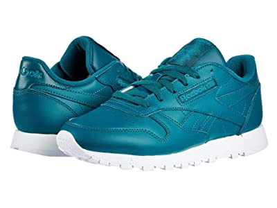 Reebok Lifestyle Classic Leather (Heritage Teal/White/Seaport Teal) Women
