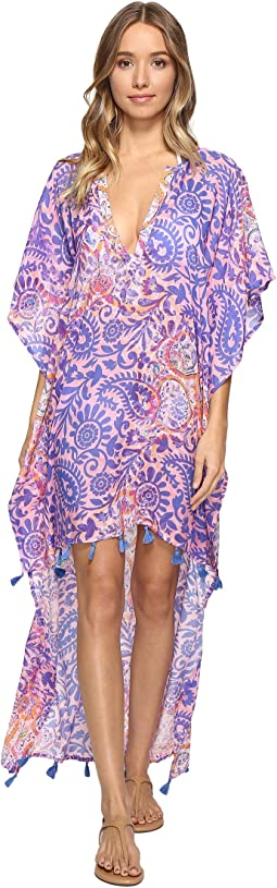 Paisley High-Low Dress