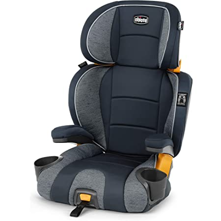 Chicco KidFit 2-in-1 Belt Positioning Booster Car Seat - Gravity, Grey