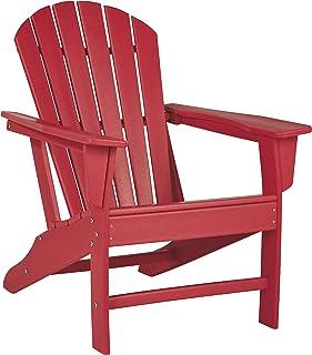 Signature Design by Ashley - Sundown Treasure Outdoor Adirondack Chair - Red